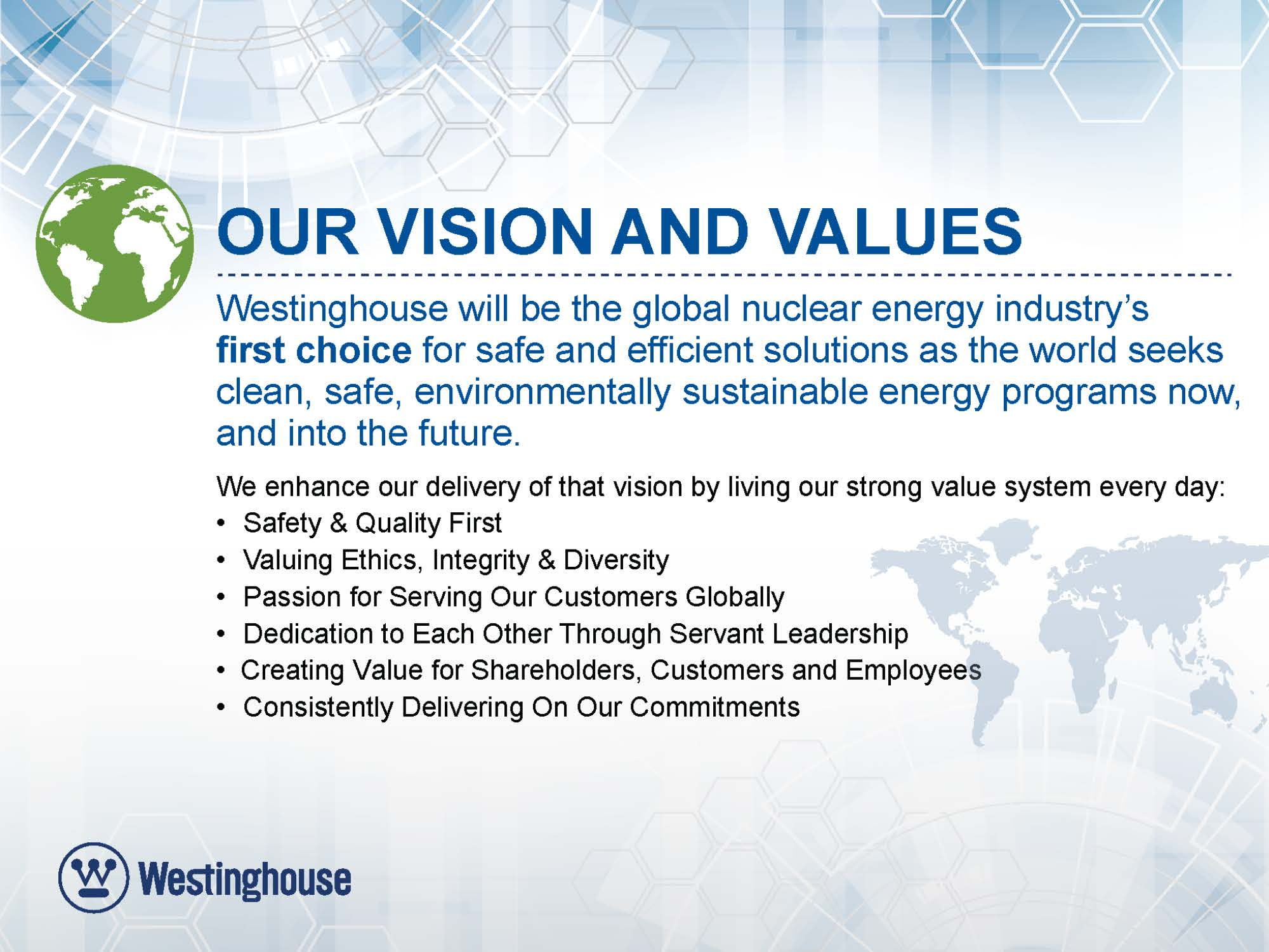 westinghouse nuclear westinghouse electric company about